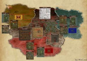 Metin2 mapa do mundo