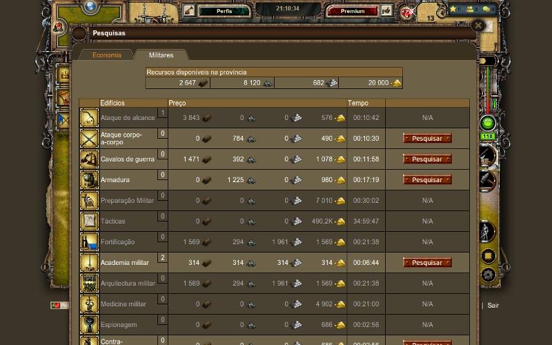 Dicas Imperia Online – Economia – 2